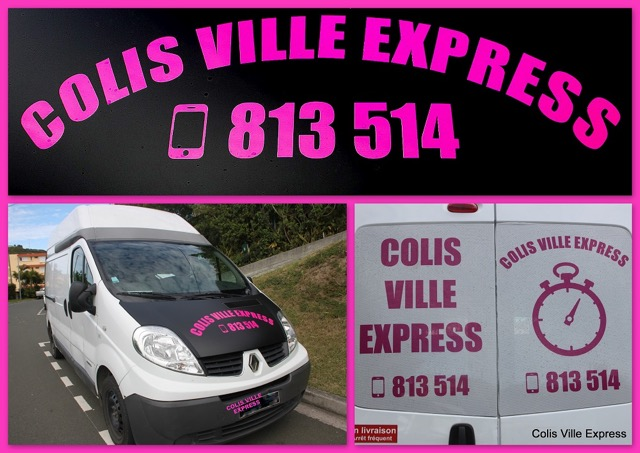 COLIS VILLE EXPRESS 1000PXLS